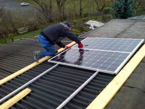 Photovoltaik Anlage Aufbau